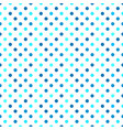 circle pattern background - cyan abstract design vector image vector image