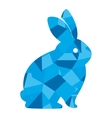 cute rabbit character isolated vector image vector image