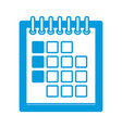 delivery calendar day agenda plan vector image