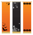 halloween wall hangings vector image vector image