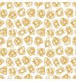 modern and fashion gold random abstract creative vector image vector image