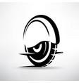 self-balbancing electric monowheel transport vector image