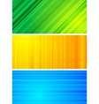 simple abstract banners eps 10 vector image vector image