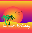 summer holiday background image vector image vector image