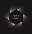 symbol for photographer vector image vector image