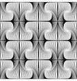 Design seamless striped decorative pattern vector image