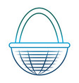 egg basket icon vector image