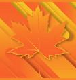 fall backgroundfall leafmaple leaf vector image