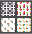 medical drugs icon seamless pattern background vector image vector image