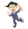 professional qualification man vector image