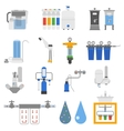 Water filters set vector image vector image