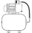Compressor vector image
