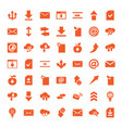 download icons vector image vector image