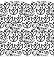 floral seamless swirl mehendi flower pattern vector image