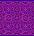 geometrical abstract circle mosaic pattern vector image vector image