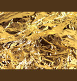 gold background gold metallic texture vector image vector image