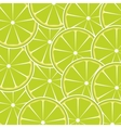 Lime fruit abstract background vector image vector image