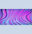 liquid color background design futuristic design vector image vector image