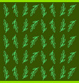 plant in ground wallpaper on white background vector image vector image