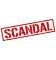 scandal stamp vector image vector image