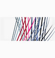 trendy color stripes lines wave great design for vector image vector image