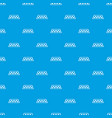 checker taxi pattern seamless blue vector image vector image