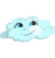 cloud joy vector image vector image