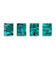 liquid marble texture fluid art mixture of vector image