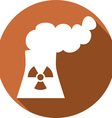 Nuclear Power Plant Icon vector image