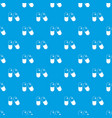pills pattern seamless blue vector image vector image