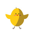 chick animal cute vector image