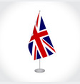 flag of the great britain vector image vector image