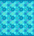 geometric concentric circle pattern background vector image vector image