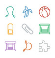 painting icons vector image vector image