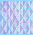 purple mosaic pattern vector image vector image