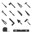 tool icons 2 vector image vector image