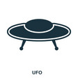 ufo icon flat style icon design ui vector image vector image