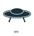 ufo icon flat style icon design ui vector image