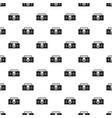 vintage tape recorder pattern vector image vector image