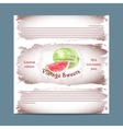 Vintage template candy packaging vector image vector image