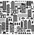 city pattern vector image