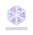 antimicrobial resistance prevention concept icon vector image vector image