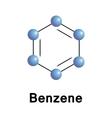 Benzene vector image vector image