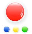 Button vector image