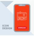 crowdfunding funding fundraising platform website vector image