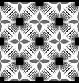 design seamless monochrome flower pattern vector image vector image