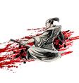 samurai samurai 02 vector image