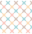 seamless pattern classical geometrical texture vector image vector image