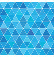winter triangle pattern 20 vector image vector image