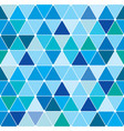 winter triangle pattern 21 vector image vector image